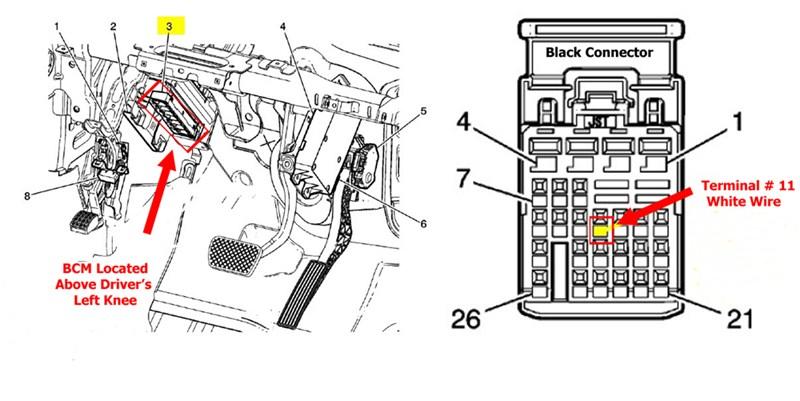 7 pole wiring harness gmc terrain