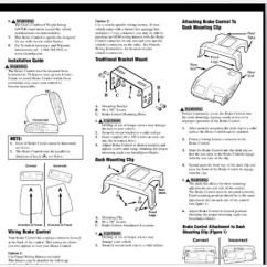 Primus Iq Brake Controller Wiring Diagram Submersible Pump Control Panel Tekonsha Trailer Www Toyskids Co Older Generation Cequent User Voyager Electric