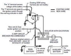 How To Wire Deka # DW08771 Battery Isolator Etrailer Com