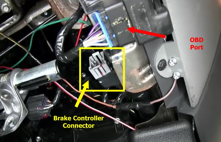 1999 ford f150 ignition wiring diagram 1980 suzuki gs550e connecting brake controller to factory provided pigtail on 2006 | etrailer.com