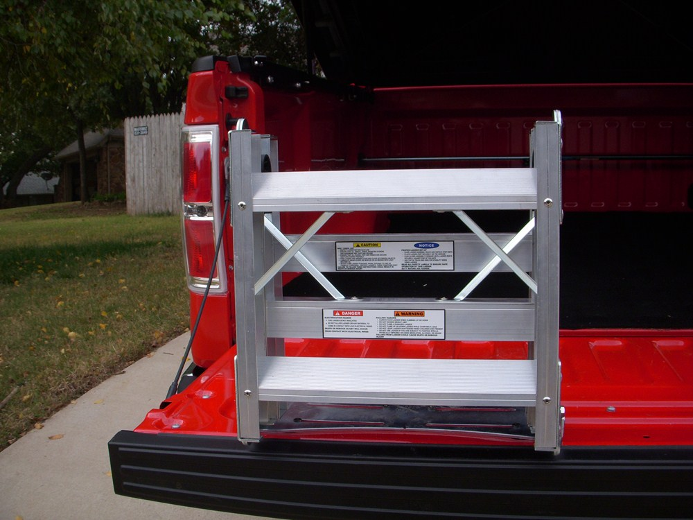 Westin Truck Pal Fold Up Bed Ladder Westin Nerf Bars