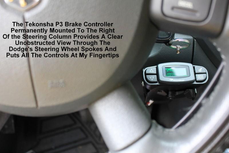 Tekonsha 90195 P3 Electric Brake Control Wiring Diagram