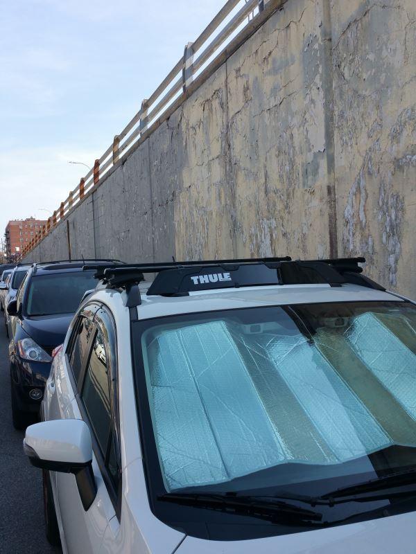 Thule Rack Noise Wind Roof