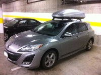 Roof Rack for 2010 Mazda 3 | etrailer.com