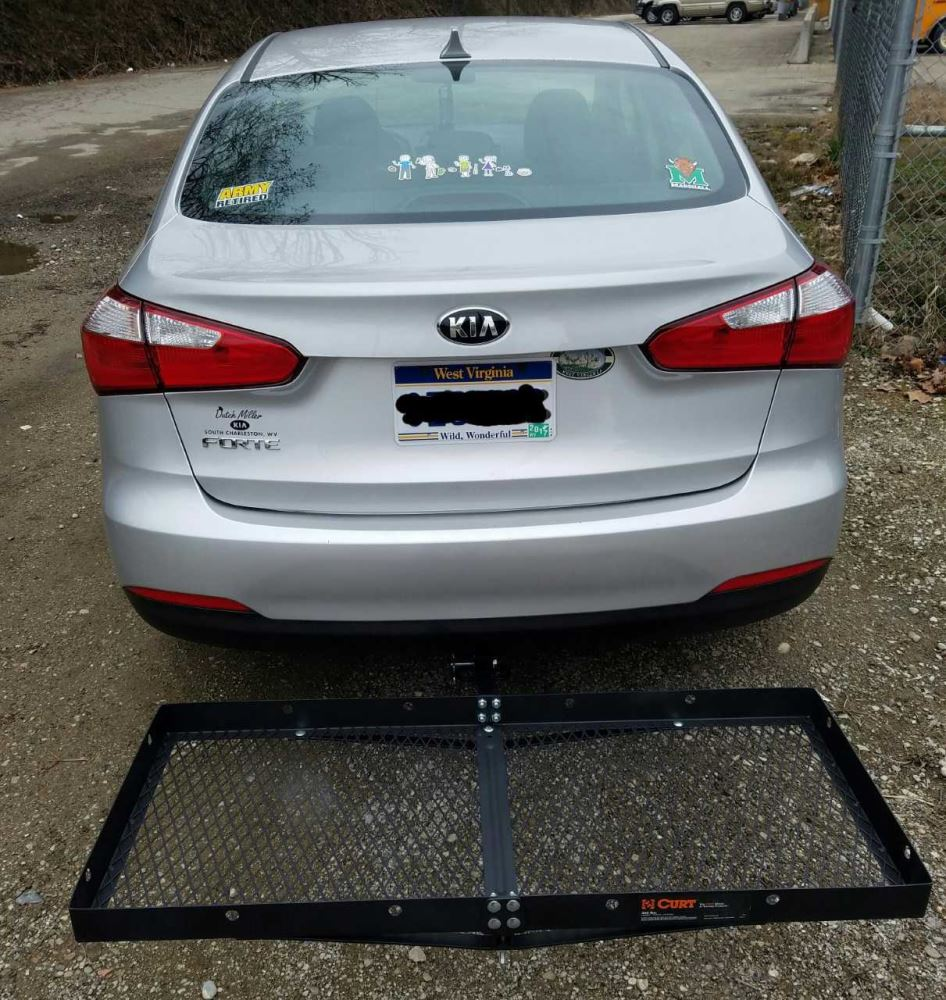 hight resolution of 19x47 curt cargo carrier for 1 1 4 and 2 hitches steel 300 lbs curt hitch cargo carrier c18110