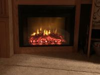 "26"" Greystone Electric Fireplace with Remote Control ..."
