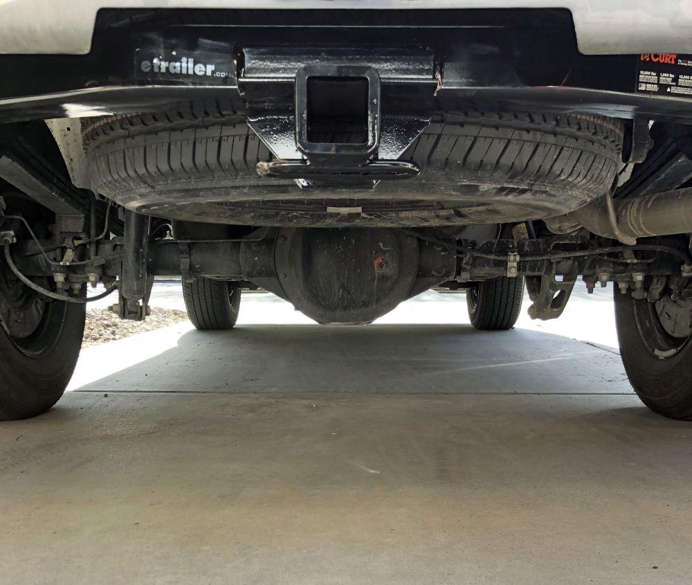 hight resolution of 2017 gmc sierra 1500 curt trailer hitch receiver custom fit class iv 2