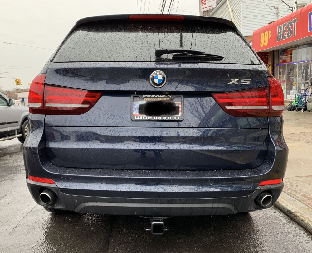 hight resolution of 2017 bmw x5 draw tite max frame trailer hitch receiver custom fit class iii 2