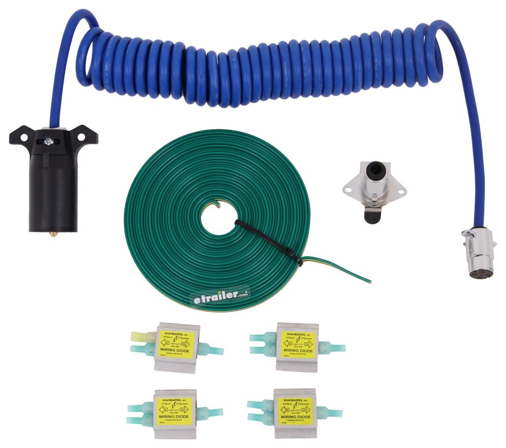 medium resolution of roadmaster diode 7 wire to 4 wire flexo coil wiring kit roadmaster tow bar wiring rm 15247