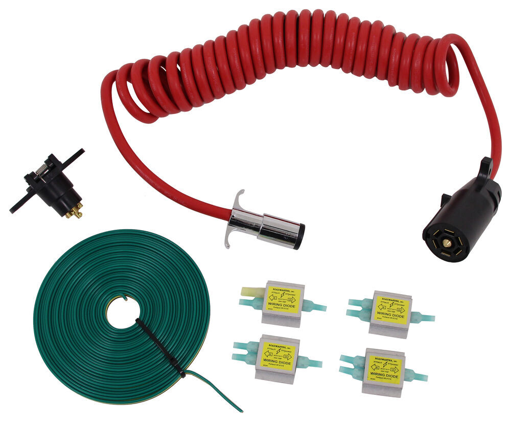 medium resolution of roadmaster diode 7 wire to 6 wire flexo coil wiring kit roadmaster tow bar wiring rm 15267