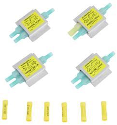roadmaster universal hy power diode wiring kit roadmaster tow bar wiring rm 154 [ 954 x 1000 Pixel ]