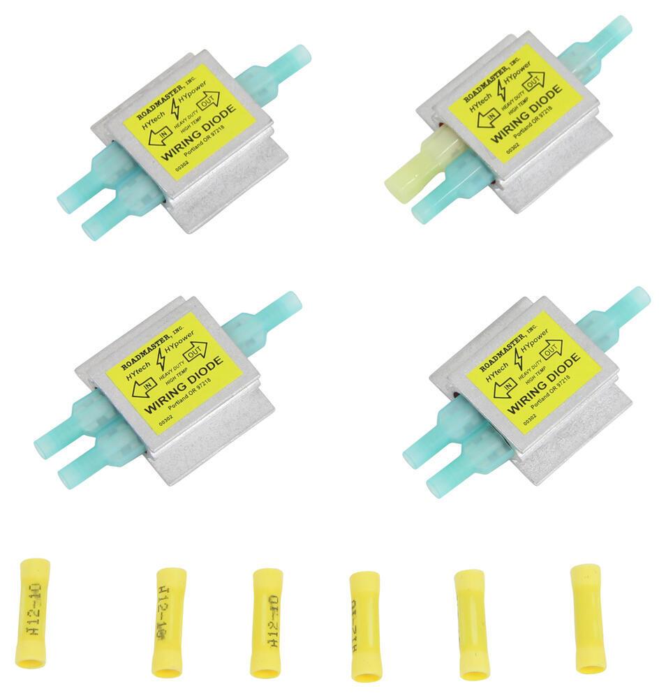 hight resolution of roadmaster universal hy power diode wiring kit roadmaster tow bar wiring rm 154