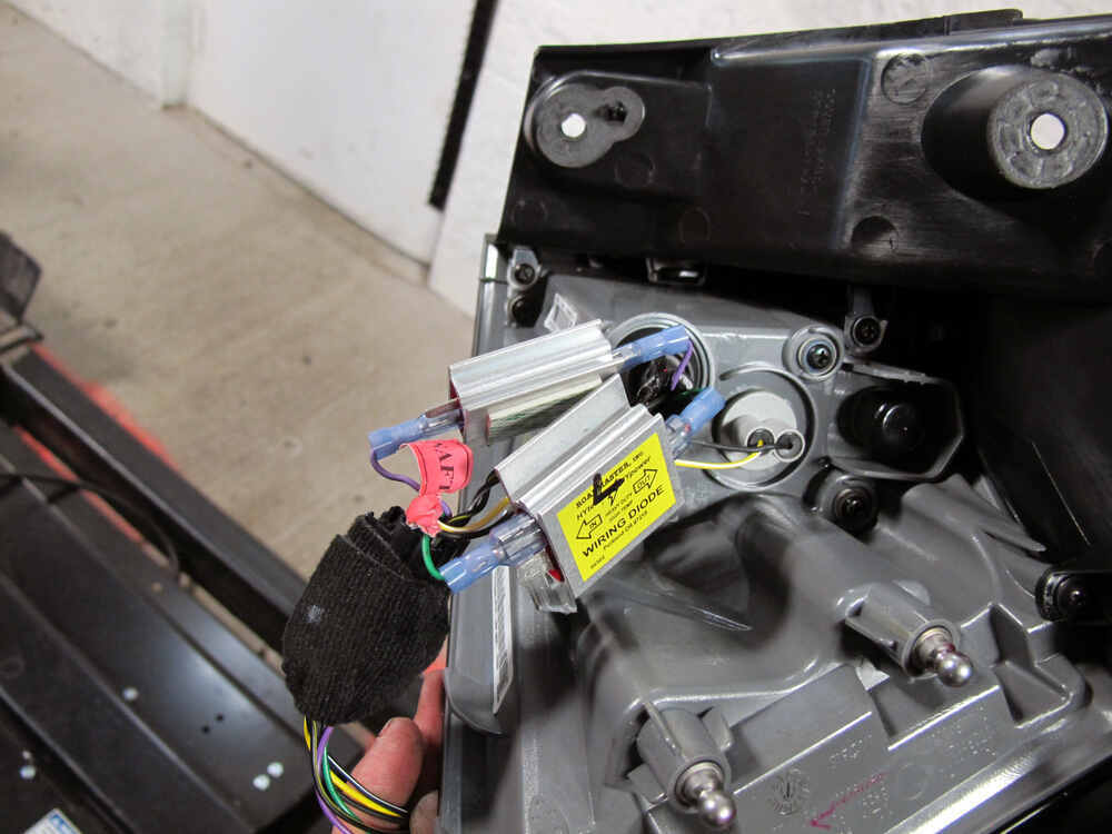 2014 Jeep Wrangler 5 Roadmaster Tow Bar Wiring Tow Bar Wiring Rm154