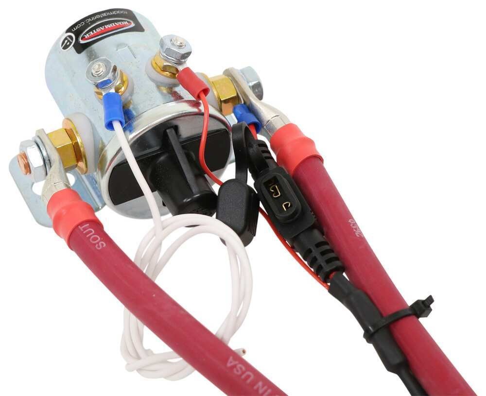 medium resolution of roadmaster automatic battery disconnect with switch for towed vehicle w supplemental braking system roadmaster accessories and parts rm 766