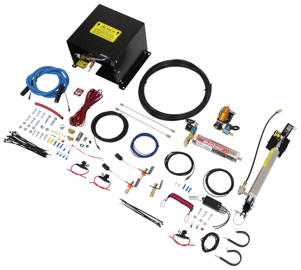 medium resolution of roadmaster brakemaster braking system with brakeaway for rvs with hydraulic brakes proportional roadmaster tow bar braking systems rm 9060