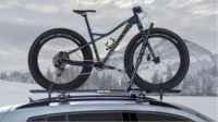 Rhino-Rack Hybrid Roof Bike Rack for Fat Bikes - Wheel ...