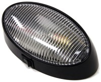 RV Porch and Utility Light - Oval - Incandescent - Clear ...