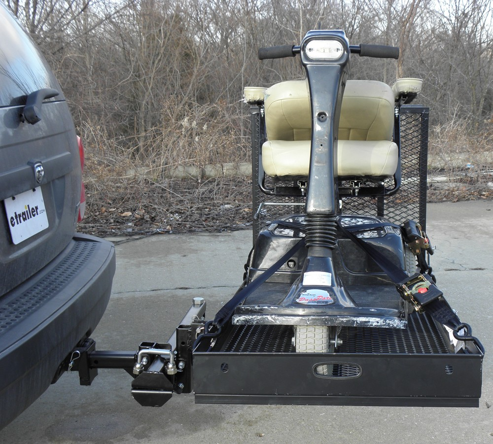 folding chair parts hideaway beds rage powersport swing-away, hitch-mounted wheelchair and scooter carrier - 60