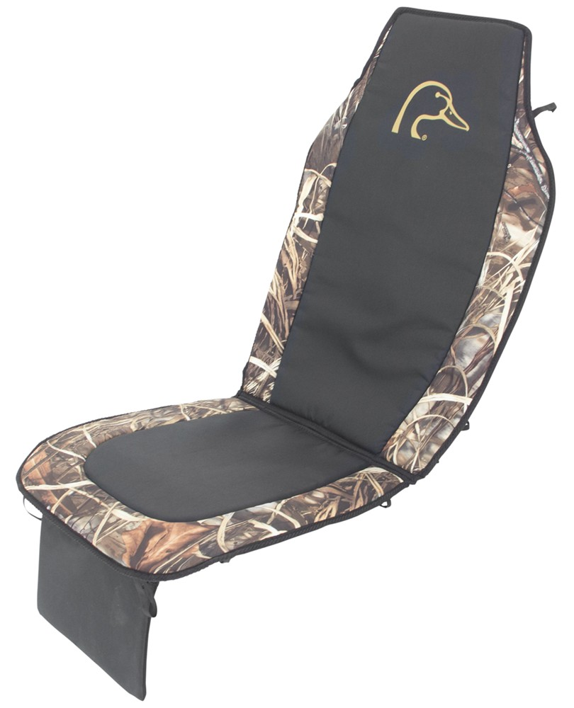 Ducks Unlimited Seat Cushion  Realtree Max4 Camo and
