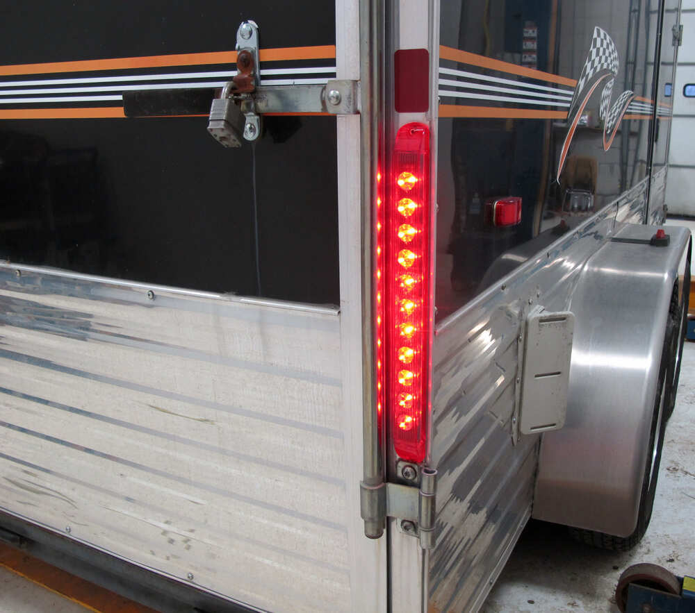 Led Trailer Lights And New Wiring Installed Pictures