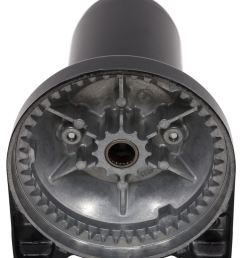 superwinch replacement motor and gear housing assembly x series motor sw90 32425 [ 844 x 1000 Pixel ]
