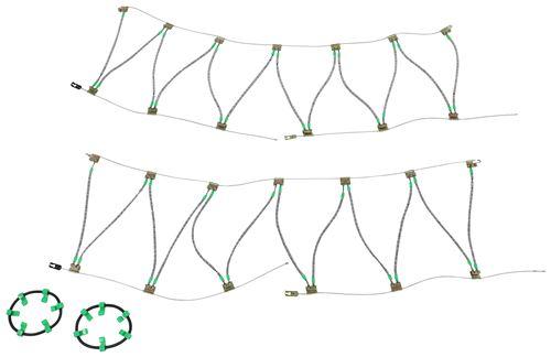 2017 Kia Sorento Titan Chain Diagonal Alloy Cable Snow