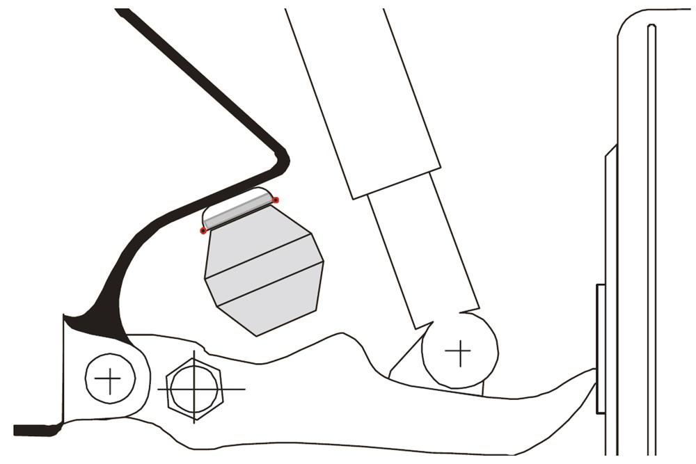 Dodge Durango Timbren Front Suspension Enhancement System