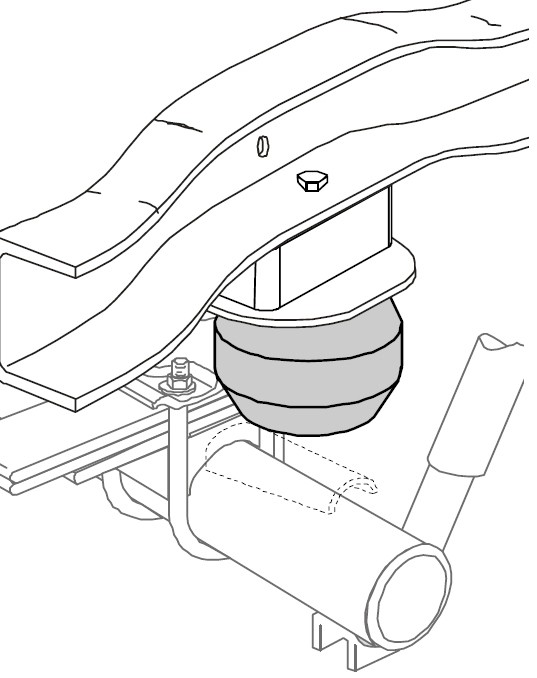 2002 Ford F-250 and F-350 Super Duty Vehicle Suspension