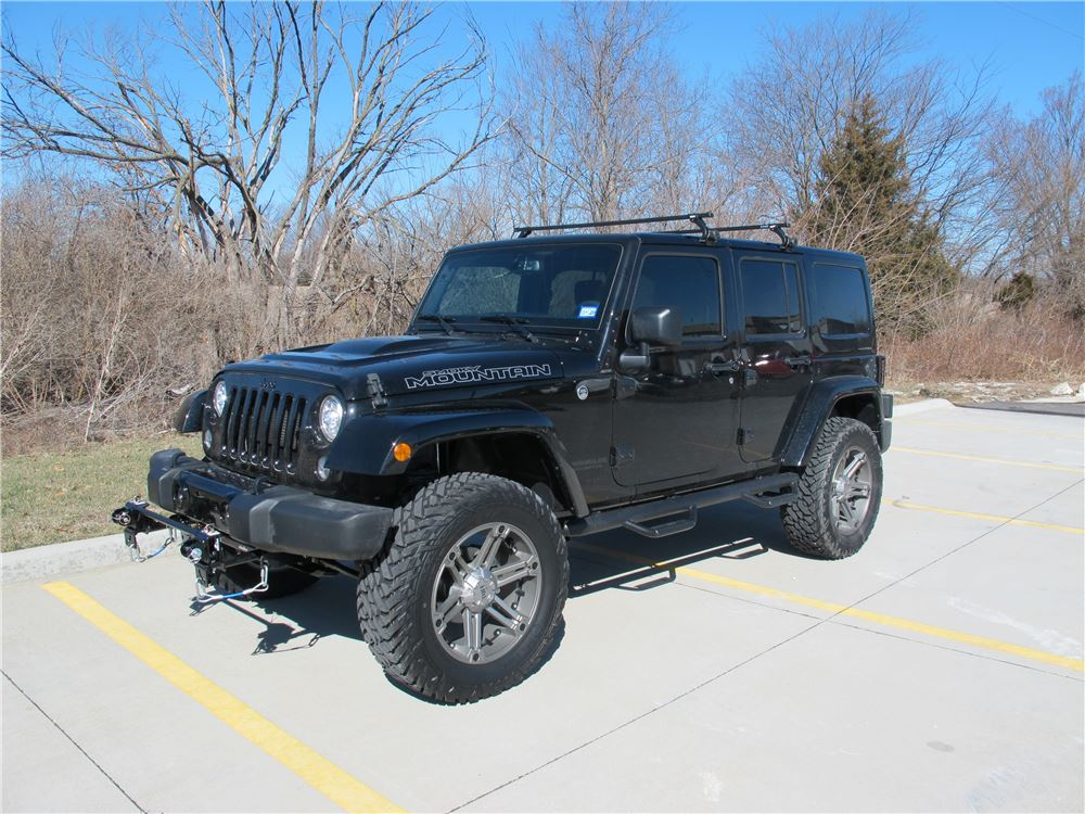 Thule Roof Rack for 2013 Jeep Wrangler Unlimited