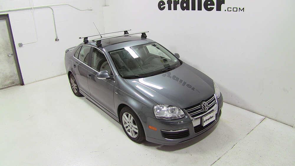 2007 Volkswagen Jetta Thule Rapid Traverse Roof