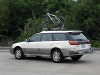 Subaru Bike Rack Outback. Review Of The Thule Trunk Bike