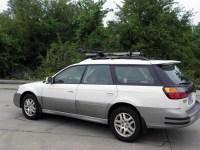 1999 Subaru Outback Wagon Thule Sidearm Wheel