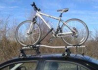 BMW 3 Series Thule Criterium Roof Mounted Bike Rack ...