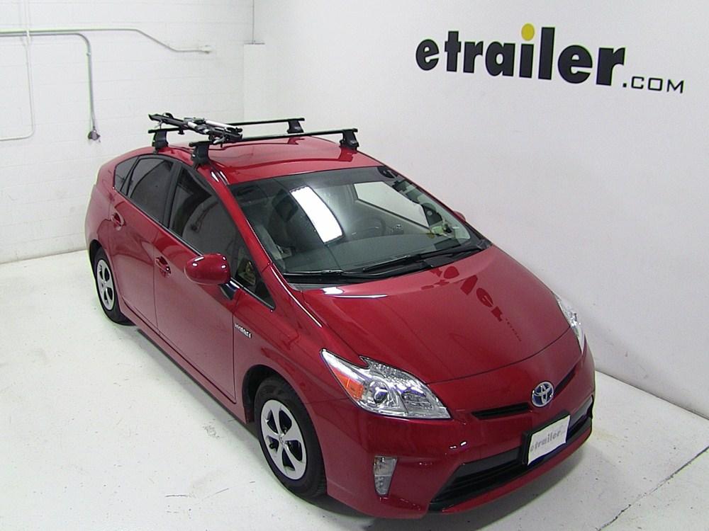 2010 Toyota Prius Thule Big Mouth Roof Mounted Bike Rack