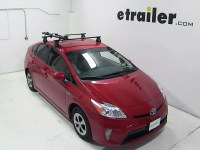 2010 Toyota Prius Thule Big Mouth Roof Mounted Bike Rack ...