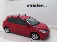 Thule Roof Rack for Nissan Versa, 2011 | etrailer.com