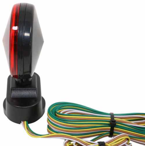 small resolution of heavy duty magnetic tow lights 20 wiring harness with 4 way flat trailer connector optronics tow bar wiring tl21rk