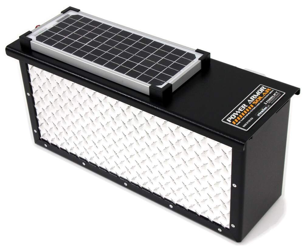 Golf Cart Battery Wiring Diagram Torklift Powerarmor Solar Locking Battery Box 6v And 12v