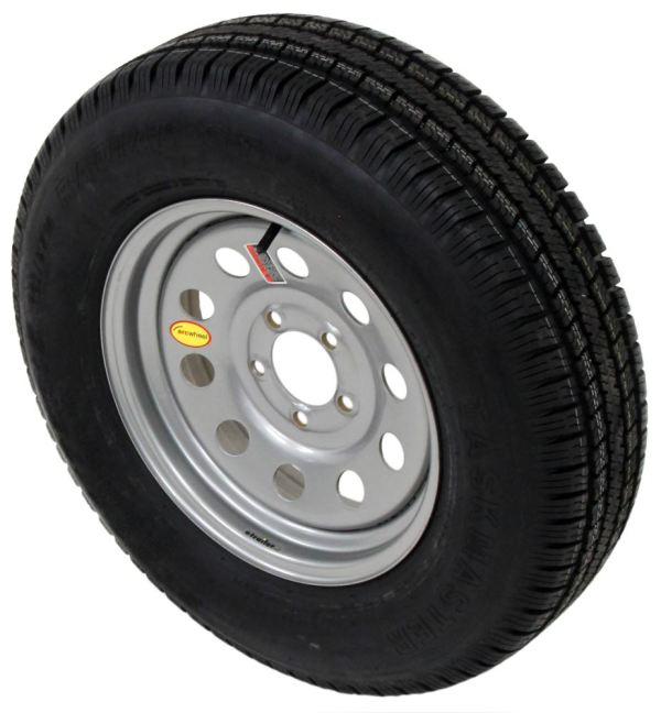 15 Inch Radial Trailer Tires and Wheels