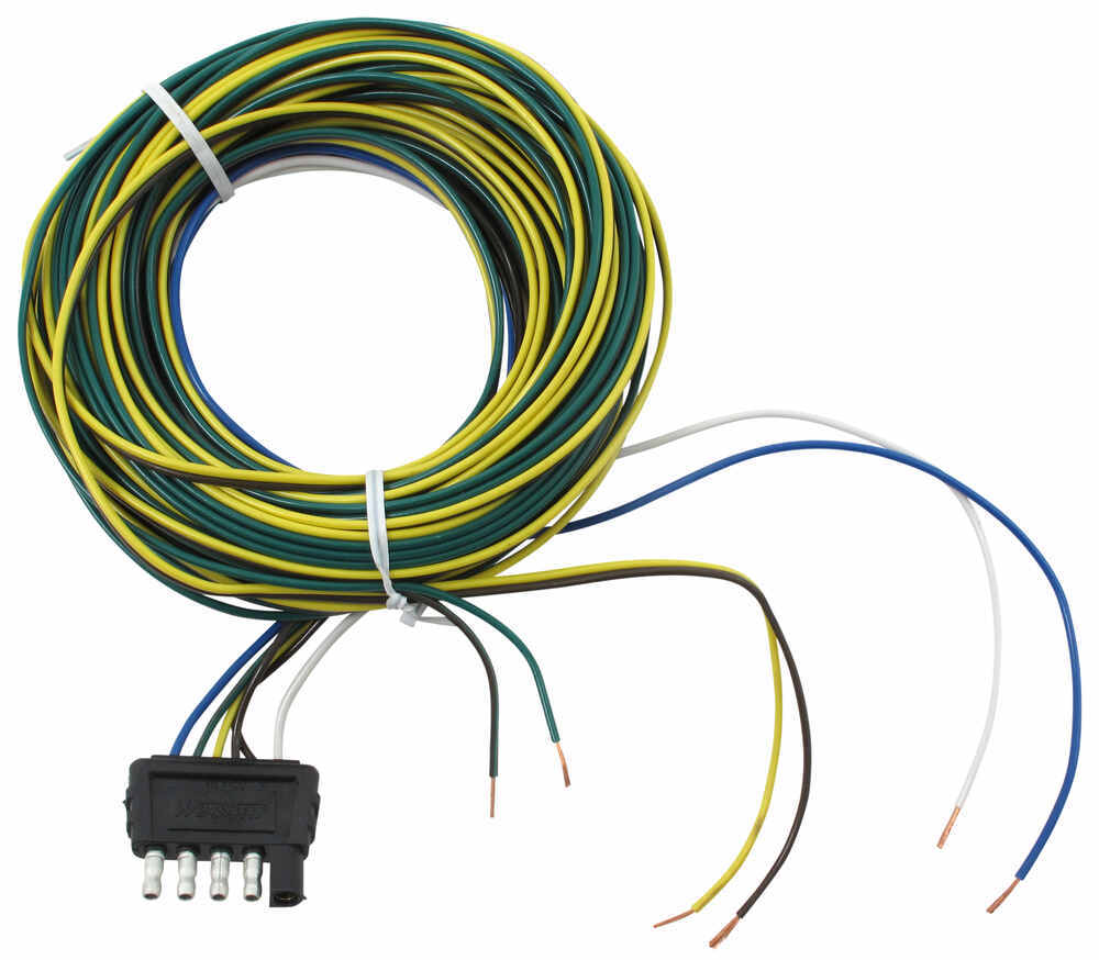 medium resolution of boat trailer wiring harness about 48 inch long flat