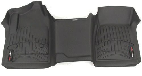 WeatherTech Front Auto Floor Mat  Single Piece  Black WeatherTech Floor Mats WT445451
