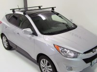 Hyundai Tucson Yakima Q Towers Roof Rack Feet for Naked