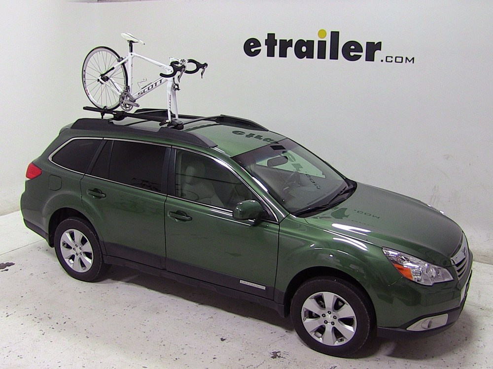 Subaru Outback Wagon Yakima ForkLift Roof Mounted Bike