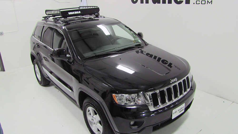 2008 jeep grand cherokee Yakima LoadWarrior Roof Rack