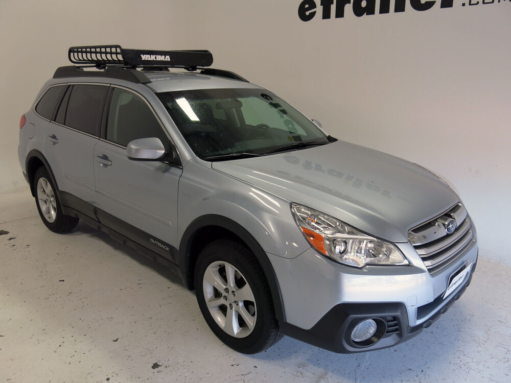 2015 Subaru Outback Wagon Yakima LoadWarrior Roof Rack