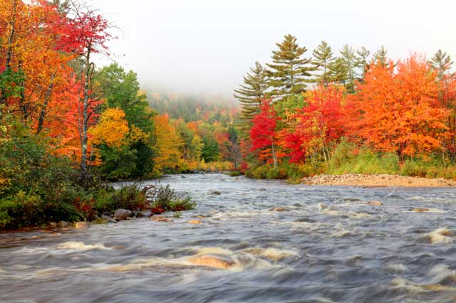 New Hampshire Fall Foliage Wallpaper Maine Fall Foliage Photos Etravelmaine