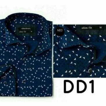 Πουκάμισο Dash & Dot μπλε