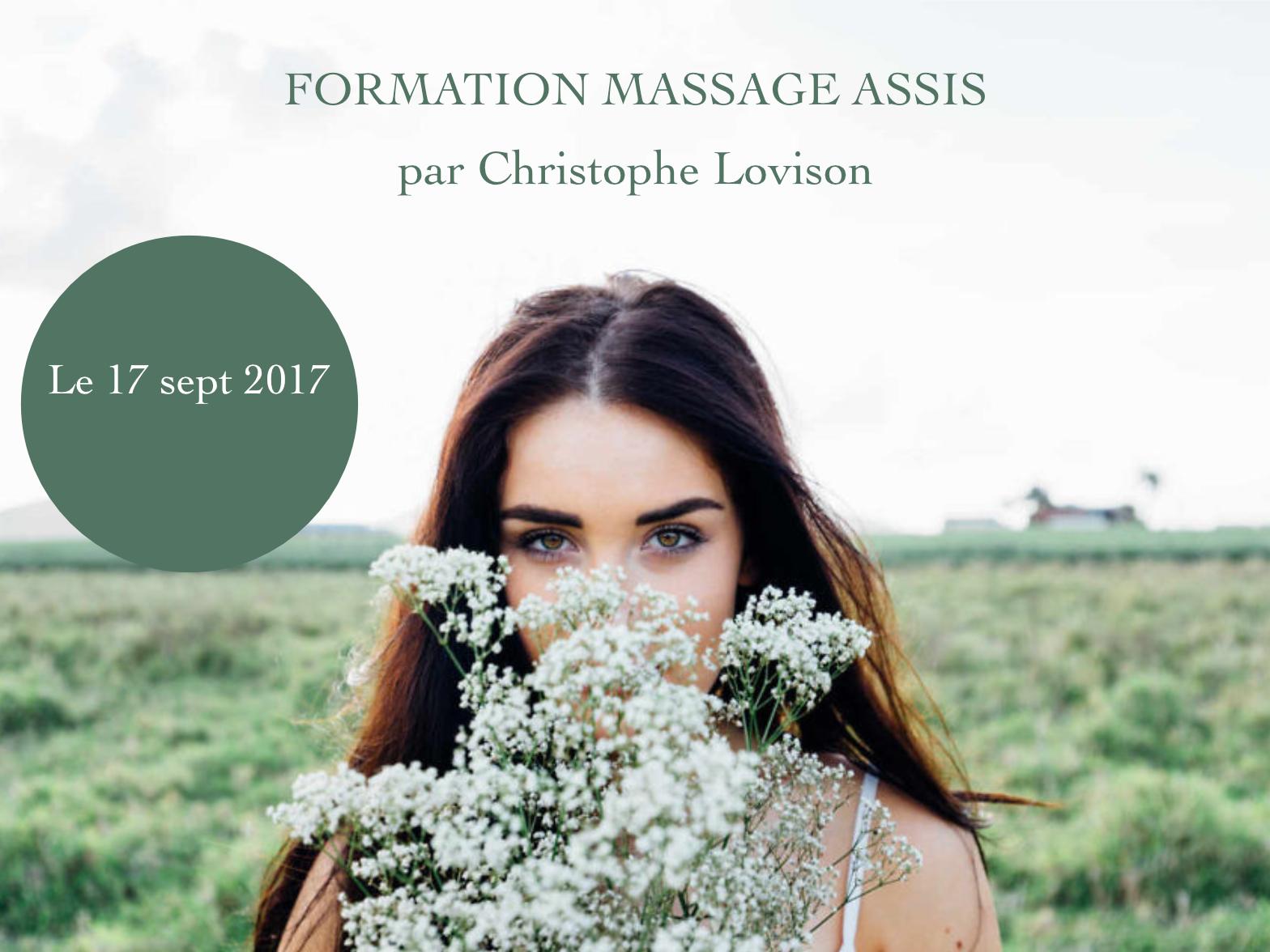 Formation massage assis sept 2017 - Être Soi