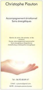 Christophe Piauton : Thérapeute praticien en ostéofluidique