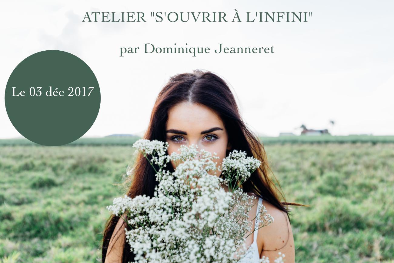 atelier s'ouvrir à l'infini - Dominique Jeanneret - Être Soi